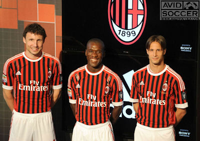 AVID Soccer AC Milan Jersey